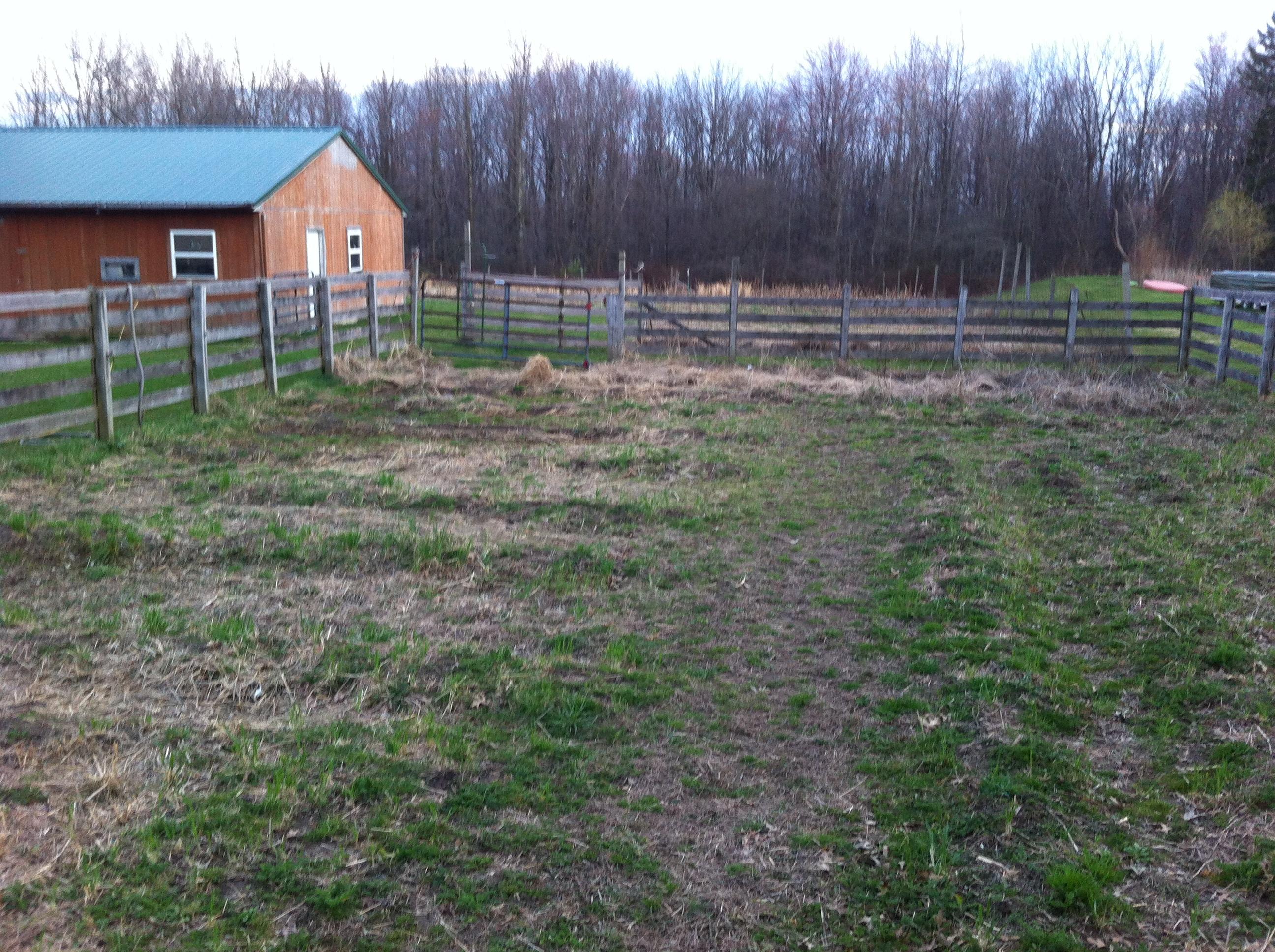 Farm Garden Early Spring Two Barn Farm