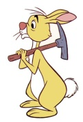 rabbit pooh